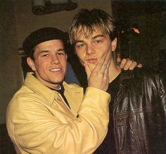 mark wahlberg and leonardo dicaprio Mark Wahlberg, Moment Of Silence, Leonardo Dicaprio, Most Beautiful, Celebs, In This Moment, Couple Photos, Boys, People