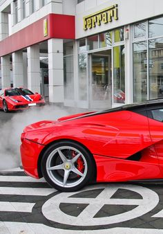 Fast and Hard! LaFerrari SPIN OUT, Spitting Flames & Huge Sounds! Click to view this incredible video!