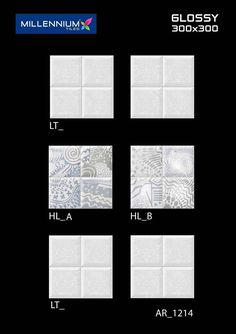 AR_1214 - Millennium Tiles 300x300mm (12x12) Digital Ceramic Glossy #Beautiful Wall Design #Tiles  - LT_  - HL_A  - HL_B  - LT_ - Digital Technology: For details, Digital printing technology in ceramic tiles enables us to print anything and everything onto the tiles with unlimited & everlasting colours. Feel effect with punches, grooves & tappers. Unlike the limitation of same design on a number of tiles.  - 3D Technology: Our physical environment is three-dimensional and we see the world in…