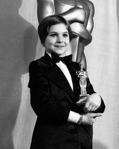 """1973 - Tatum O'Neal - Mejor Actriz Secundaria por """"Luna de papel""""."""