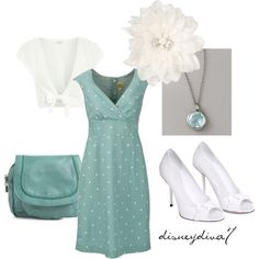 A fashion look from November 2011 featuring Joules dresses, Diamond by Julien Macdonald cardigans and Gucci pumps. Browse and shop related looks.