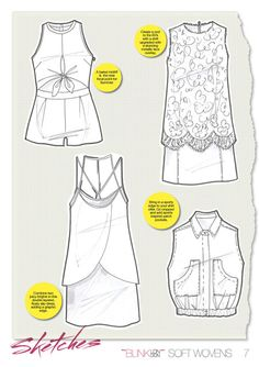 BLINK London, Fashion Reports. Great example of moodboards and trend forecasting.
