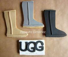 Galletas Decoradas . Ugg Boots. Periquita Giménez