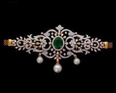 Diamond Choker Necklace, Diamond Bracelets, Diamond Pendant, Diamond Jewelry, Bangles, Pearl Choker, Pendant Necklace, Kids Gold Jewellery, Gold Jewellery Design