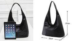 DESIGNER LUXURY BLACK SHOULDER BAG