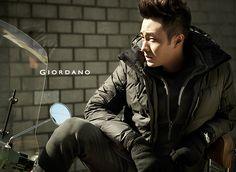 So Ji Sub For GIORDANO's Winter 2013 Campaign