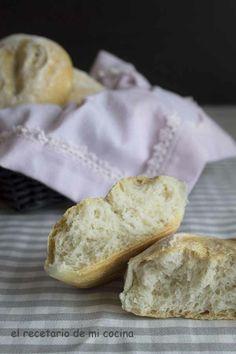 Un pan para bocadillos, que queda delicioso, y no necesita mucho tiempo de levado.