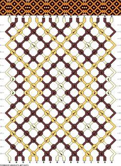Muster # 84970, Streicher: 16 Zeilen: 20 Farben: 3