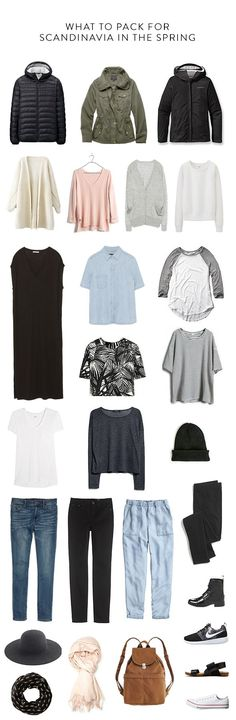 what to pack for scandinavia