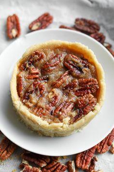 5 Minute Keto Pecan Pie | The Best Quick Keto Dessert