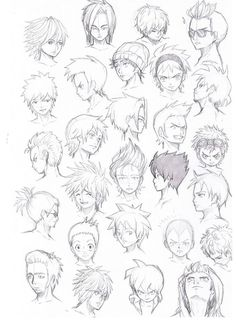 201 Best Anime Hairstyles Images On Pinterest Anime Hairstyles