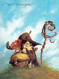 Сказочные иллюстрации Pascal Moguerou