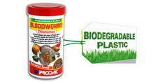 Fish food : BLOODWORMS CHIRONOMUS - Prodac