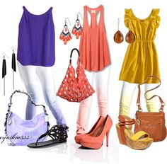 Adorable summery outfits