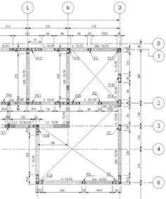 Ipa2201 Interpretacion De Planos Planos Estructura Planta Estructura Architecture How To Plan Floor Plans