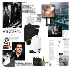 """""""I usually love sleeping all alone, this time bring a friend with ya."""" by kelseylo ❤ liked on Polyvore featuring Lardini, Brioni, Tom Ford, Versace, Dolce&Gabbana, MoÃ«t & Chandon, Riedel, Hermès, Ladurée and Rolex"""
