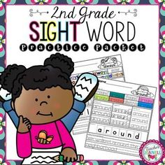 This sight word practice packet is designed to help your students practice all of the Dolch Second Grade sight words.