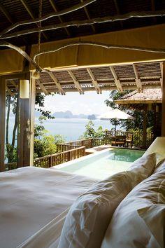 Six Senses Spa at Koh Yao Noi Island, Thailand.