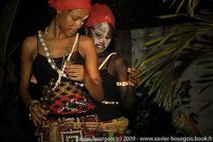 Women undergoing Bwiti initiation