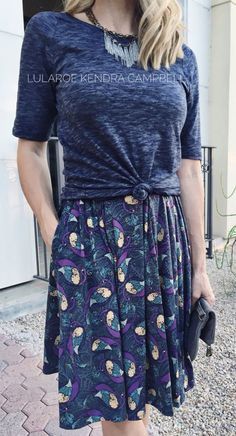 The LuLaRoe Madison skirt. Pin discovered by LuLaRoe Jenn Freridge. Find me on fb! Modest Fashion, Fashion Outfits, Womens Fashion, Fashion Trends, Lula Roe Outfits, Mode Style, Dress Me Up, Spring Summer Fashion, Cute Outfits