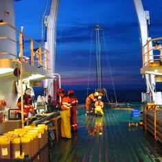 A beautiful #night shot from our German Bight project.