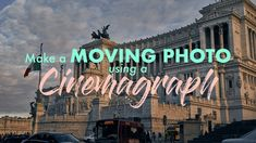 Have you seen static photos with moving elements? They're called CINEMAGRAPHS
