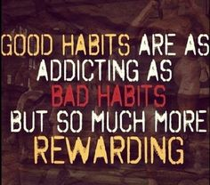 Start making good habits and progress will follow #inspiration #fitlife