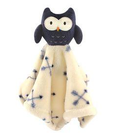 Look what I found on #zulily! Owl Animal Friend Plushy Security Blanket #zulilyfinds