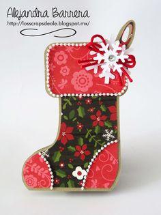Los Scraps de Ale: Reto 61: Preparando la Navidad