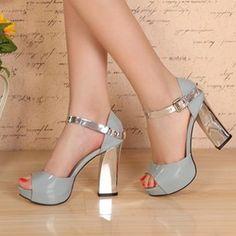 Barato 2013 high sandálias salto grosso couro genuíno plataforma aberta dedo sandálias sapatos femininos, Compro Qualidade Bombas diretamente de fornecedores da China:  & nbsp;       Verificar o tamanho Now!   & nbsp;    & nbsp;         & nbsp;                  Country & nbsp;         W