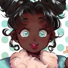 Dark Skin Girls, Basic Drawing, Black Anime Characters, Magic Art, Julia, Love Is All, Black Art, Black Girl Magic, Fashion Art