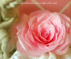 Hand Made Tissue Paper Rose