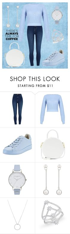 """💙"" by cecilvenekamp ❤ liked on Polyvore featuring rag & bone, Mansur Gavriel, Olivia Burton and Roberto Coin"