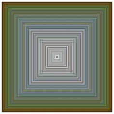 "amalgammaray:  "" Jason Salavon, Impressionist Painting, 2010  """