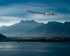 Solar impulse - solar powered plane flies record 6000km