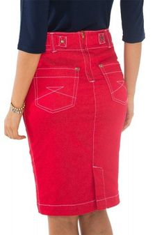 Cute Skirts, Short Skirts, Cute Jeans, Denim Jeans, High Waisted Denim Skirt, Jean Skirt, African Fashion, Plus Size Outfits, Dress Skirt