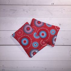 Items similar to hand warmers red medallion stocking stuffer - cold pack - pocket handwarmers - flax heat on Etsy Pocket Warmers, Hand Warmers, Gifts For Coworkers, Gifts For Teens, Scented Sachets, Lavender Bags, Gifts For Office, Key Fobs, Badge Holders