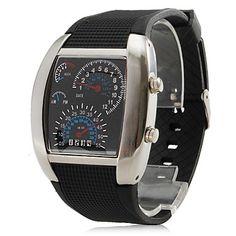 Black Turbo Watch