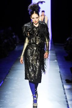 Jean Paul Gaultier - Jean Paul Gaultier Fall 2011 Couture Show (Tanya D opened)