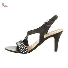 Tamaris  1-1-28359-28-098, Sandales pour femme - noir - Noir/comb, - Chaussures tamaris (*Partner-Link)