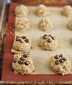 Healthy Breakfast Cookies that are protein and fiber packed but only 65 calories!