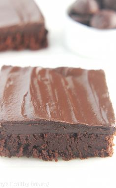Skinny Fudgy Brownies ♥