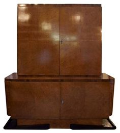 French 1930s Art Deco cabinet - $3200.