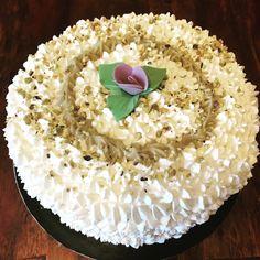 Cake con crema pasticcera  al pistacchio