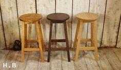 【楽天市場】ハイスツール/ナラ材 [送料無料!] 木製 スツール 北欧 家具 オーク 無垢材 木製 :はーとぼっくす工房 Wooden Chairs, Bar Stools, Furniture, Home Decor, Chair, Ornaments, Wood Chairs, Bar Stool Sports, Decoration Home