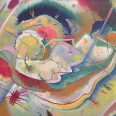 Wassily Kandinsky - Little picture with yellow, 1914.