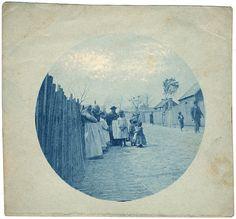 Vintage Cyanotype.