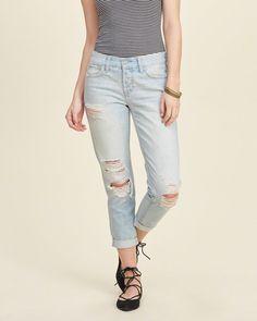 boyfriend jeans with fancy flats