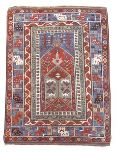 Bergama Prayer Rug, Turkey, mid 19th C