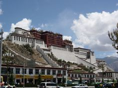 This is Potala Palace in Lhasa, Tibet.